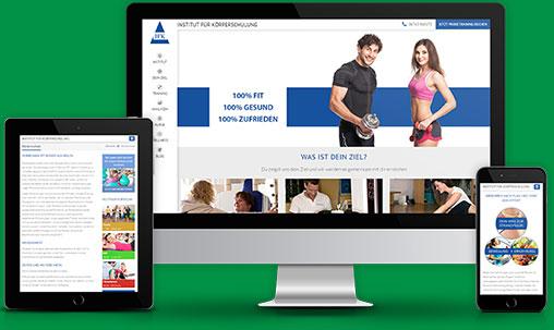 Homepage-Design-Beispiel