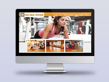 Webdesign Fitnessstudio